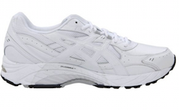 ASICS Men's GEL-Foundation Walking Shoe White Silver