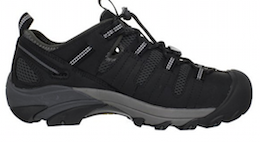 Keen Utility Men's Atlanta Cool Steel Toe Work Shoe Black