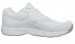 Reebok Men's Work N Cushion Walking Shoe White