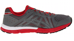 ASICS Men's GEL-Lyte33 2 Running Shoe Titanium:Chili:Black