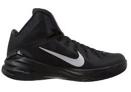 Men's Nike Lunar Hyperdunk 2014 Basketball Shoes Wolf Grey:Black