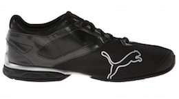 PUMA Men's Tazon 5 Cross-Training Shoe Black:Puma Silver