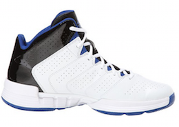 adidas Performance Men's Cross 'Em 3 Basketball Shoe White:Collegiate Royal:Black