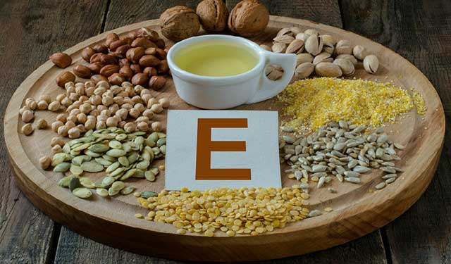 food rich in vitamin e